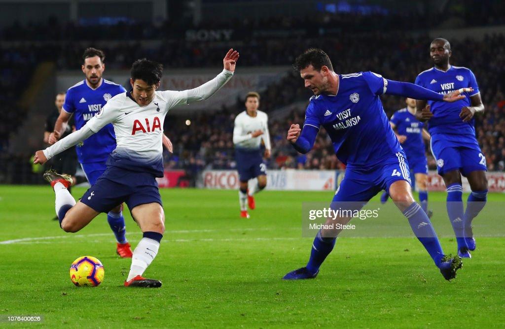 Cardiff City v Tottenham Hotspur - Premier League : News Photo
