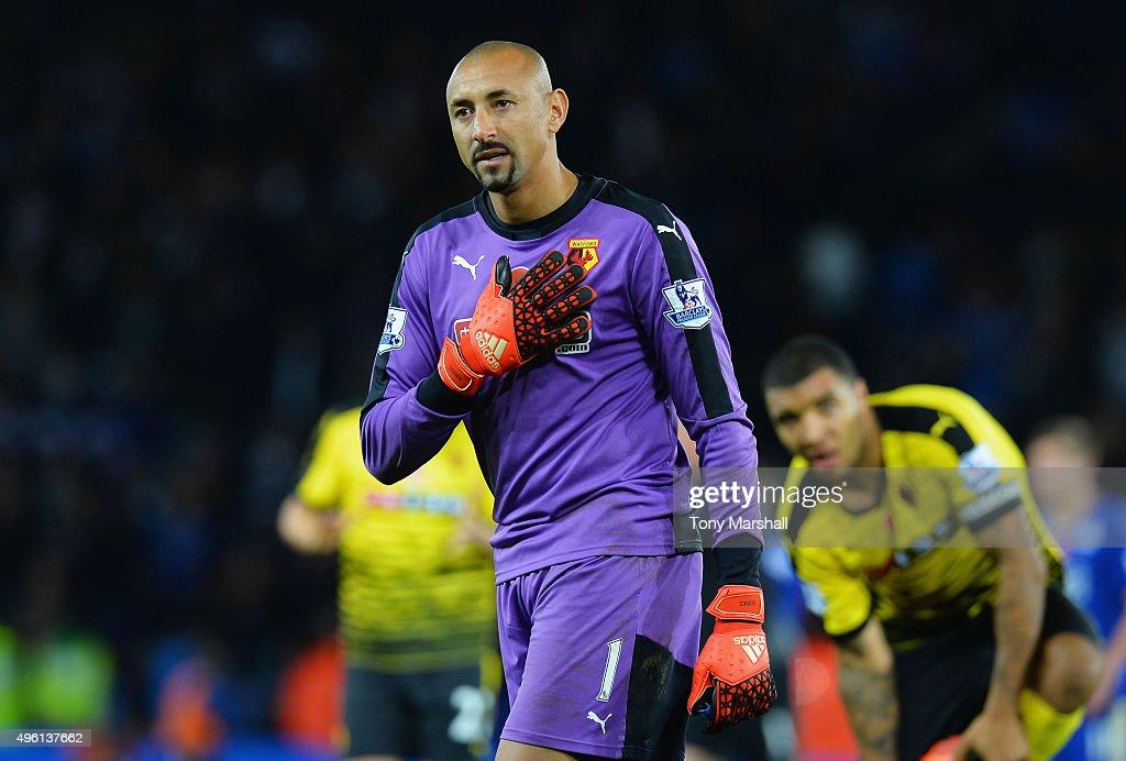 Leicester City v Watford - Premier League : Nieuwsfoto's