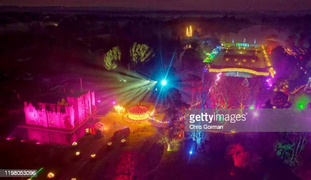 Hever Castle in Kent has an Alice in Wonderland theme for Christmas on December 05, 2019 in Hever, Kent. Hever is set in the glorious Kent...