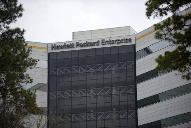 TX: Hewlett Packard Enterprises Headquarters Ahead Of Earnings Figures