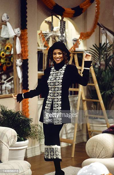 AIR THE 'Hex and the Single Guy' Episode 7 Pictured Karyn Parsons as Hilary Banks Photo by Chris Haston/NBCU Photo Bank