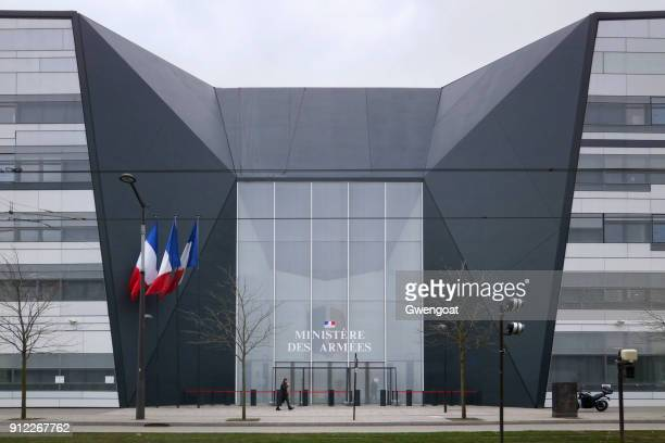 hexagone balard in paris - french army stock pictures, royalty-free photos & images