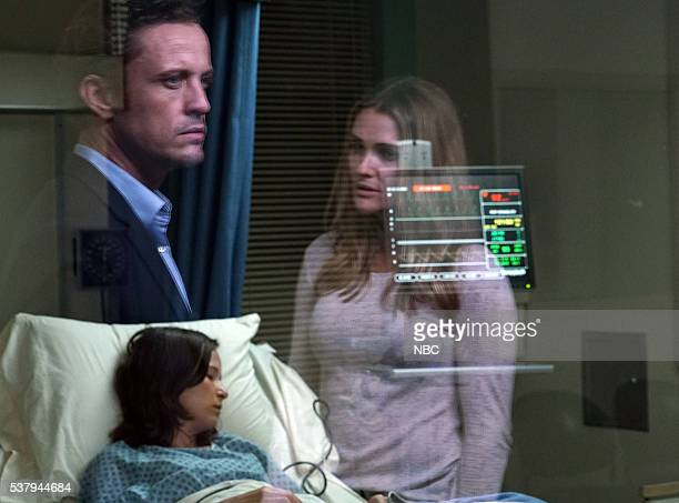 SILENCE 'Hey' Episode 107 Pictured David Lyons as Jackson Brooks Claire van der Boom as Marina Bre Blair as Jesse West