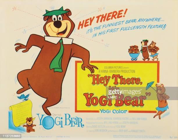 Hey There lobbycard IT'S YOGI BEAR Yogi Bear 1964