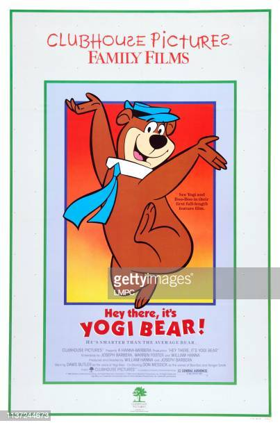 Hey There, poster, IT'S YOGI BEAR, US poster art, Yogi Bear, 1964.