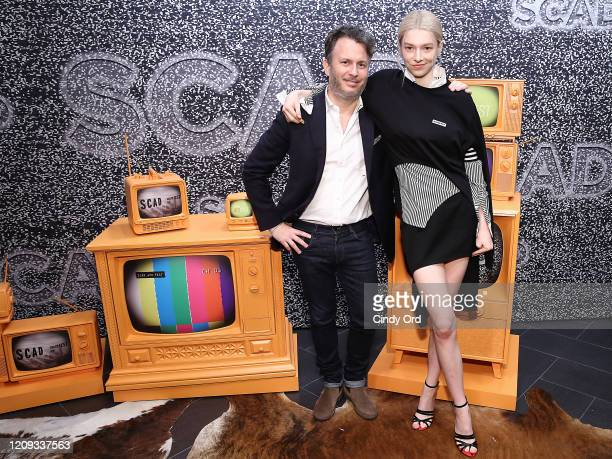 Heyman and Hunter Schafer attend the SCAD aTVfest 2020 In Conversation With Hunteand r Schafer And Discovery Award Actress Presentation on February...
