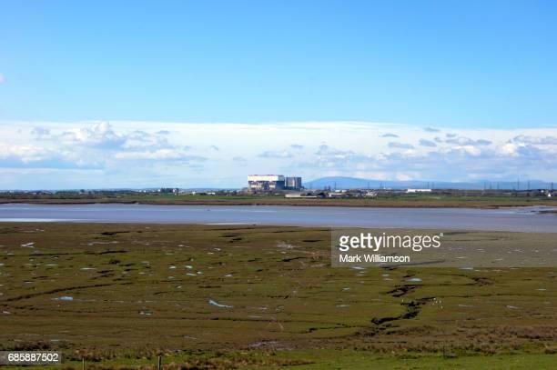 Heysham nuclear power station.