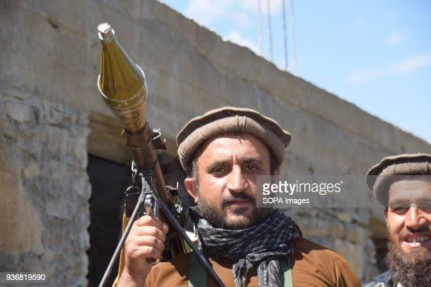 KUNAR AFGHANISTAN Hezbi Islami fighter with an RPG rocket launcher Hezbi Islami is a islamic militant organization founded in 1975 in Afghanistan...
