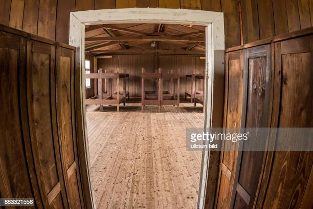 Häftlingsbaracke im Konzentrationslager Mauthausen in Österreich KZ der Stufe III von 1938 bis 1945