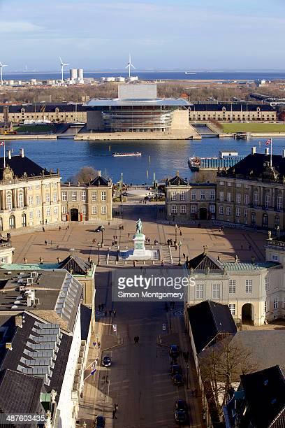 Hi views of Amalienborg
