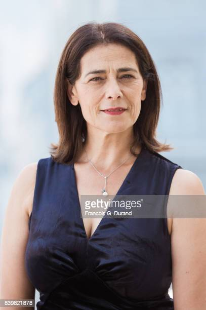 Hiam Abbass attends the 10th Angouleme FrenchSpeaking Film Festival on August 27 2017 in Angouleme France