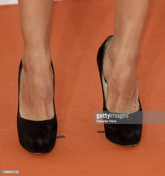 Hiba Abouk attends Jose Maria Forque awards photocall at Canal theatre on January 22 2013 in Madrid Spain