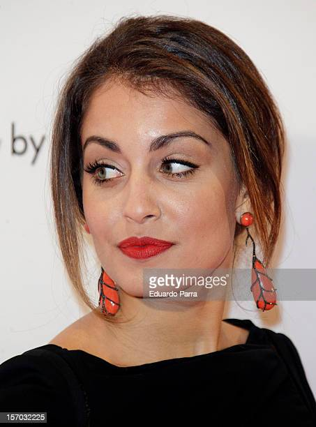 Hiba Abouk attends Men's Health awards 2012 photocall at Reina Sofia museum on November 27 2012 in Madrid Spain