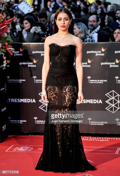 Hiba Abouk attends photocall during of the 20th Malaga Film Festival on March 25 2017 in Malaga Spain