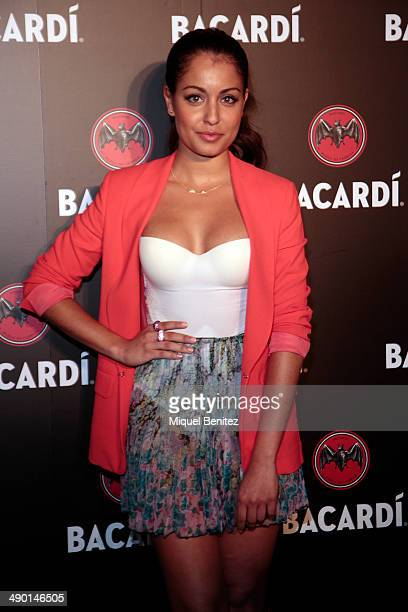 Hiba Abouk attends the 'Bacardi Untameable Since 1862' at the Bacardi venue on May 13 2014 in Sitges Spain