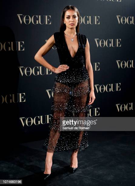 Hiba Abouk attends the Vogue Joyas awards 2018 at Palacio de Santoña on November 29 2018 in Madrid Spain