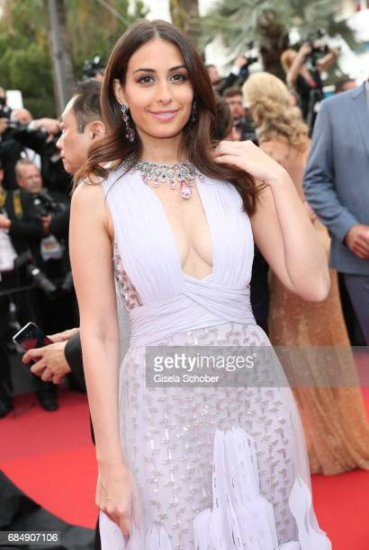 Hiba Tawaji attends the 'Loveless ' screening during the 70th annual Cannes Film Festival at Palais des Festivals on May 18 2017 in Cannes France