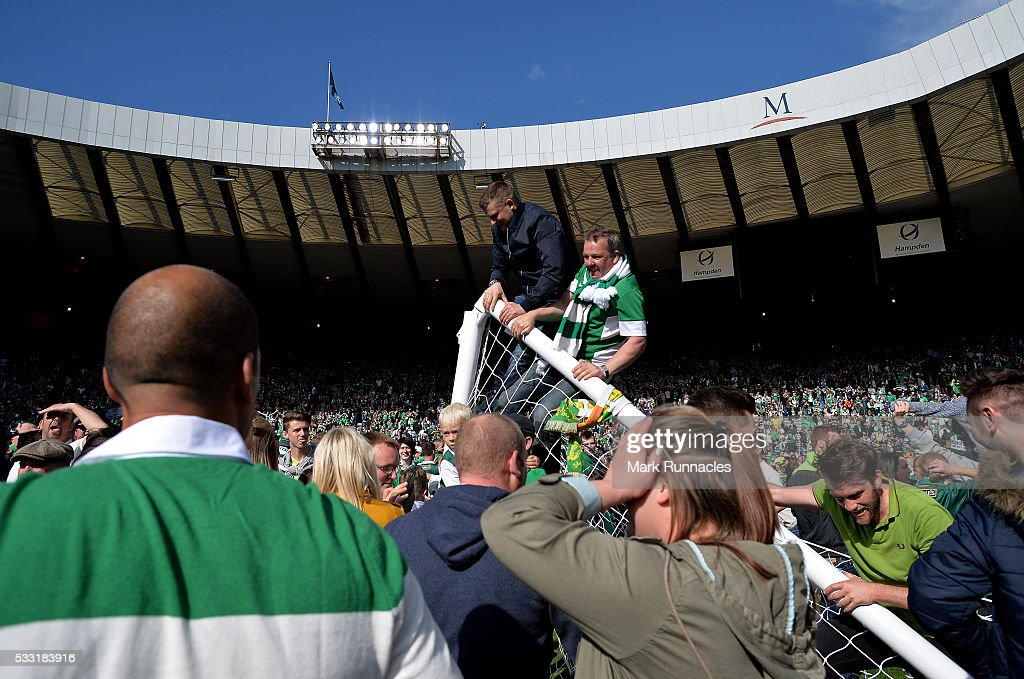 Rangers v Hibernian - William Hill Scottish Cup Final : News Photo