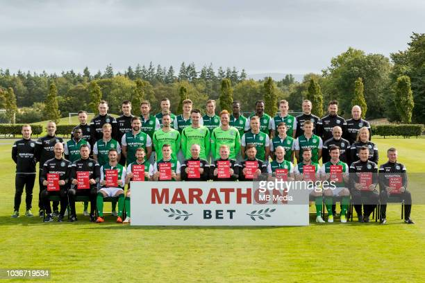 2018/19 Hibernian FC Head shots Season 2018/19 Back Calvin Charlton Rory Monks Tommy Scanlon Mark Milligan Flo Kamberi Vykintas Slivka Steven...