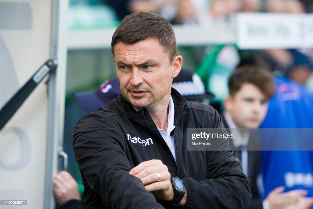 Hibernian V Greenock Morton - Scottish League Cup : News Photo