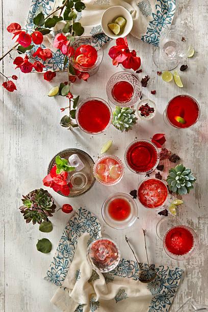 Hibiscus Juice or Agua de Jamaica
