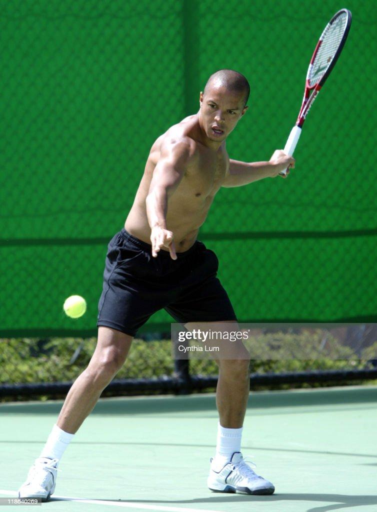 2004 Australian Open  -  Men's Singles - Hicham Arazi