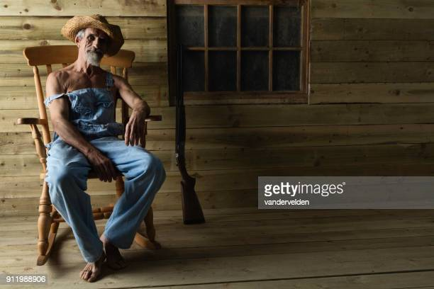 Old Man Rocking Chair Stock Photos and Pictures | Getty Images