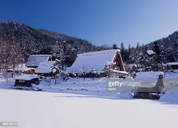 hida-no-sato, takayama, gifu, japan - takayama city stock pictures, royalty-free photos & images