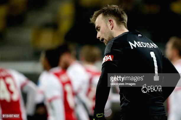 Hidde Jurjus of Roda JC during the Dutch Eredivisie match between Roda JC v Ajax at the Parkstad Limburg Stadium on February 7 2018 in Kerkrade...