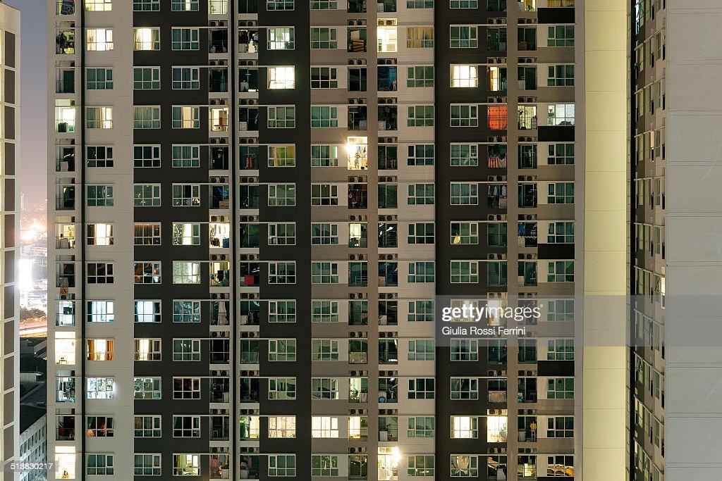 Hidden lives, Bangkok : Stock Photo