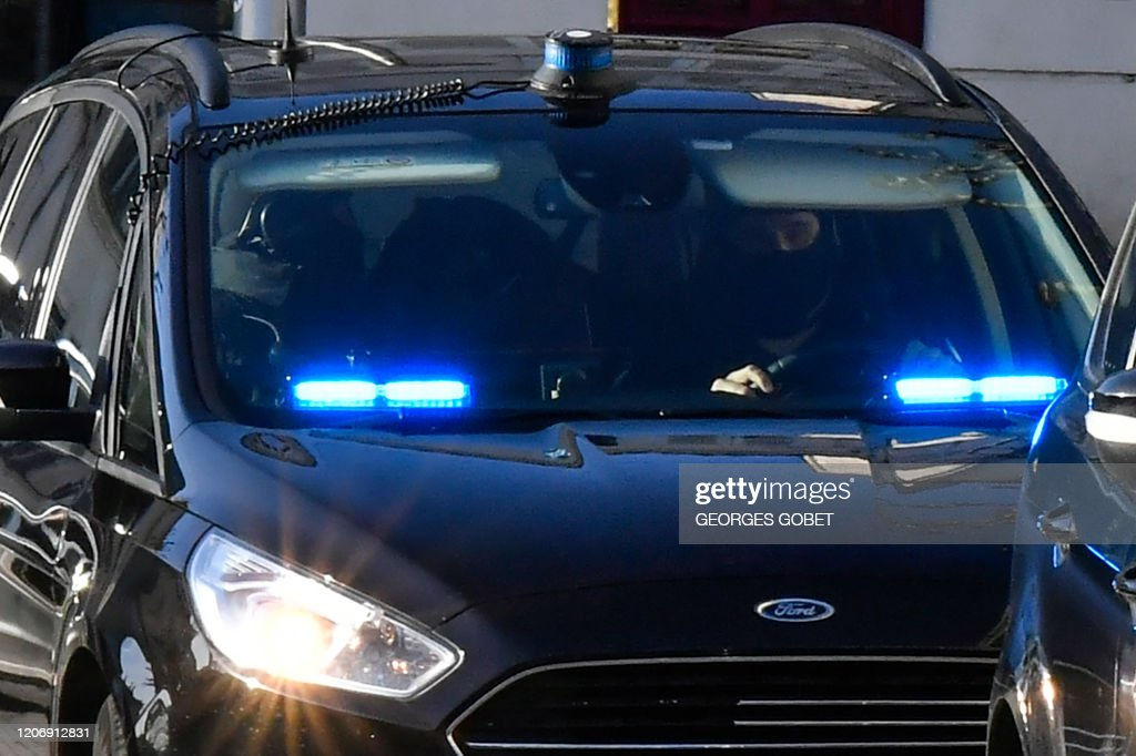 Hidden Under A Blanket On The Backseat Of A Police Car Joel Le News Photo Getty Images