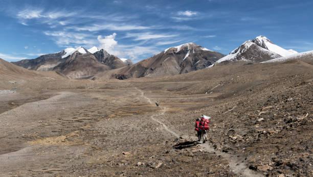Hidden Valley, Sechi Lek, Dhampus Peak, Dhaulagiri Circuit Trek, Himalaya, Nepal