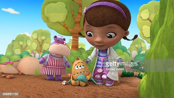 DOC MCSTUFFINS 'Hide and Eek' While pretending to be mad scientists Donny and Alma create a toy monster which all the other toys are afraid of until...