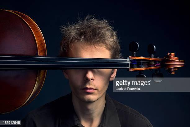 Hide behind cello