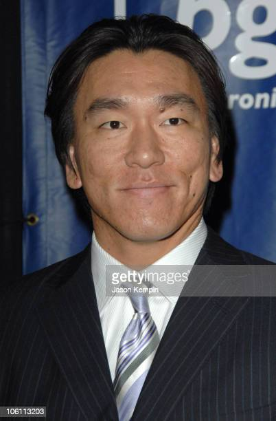 Hideki Matsui during Joe Torre's Safe At Home Foundation's Fourth Annual Gala November 10 2006 at Chelsea Piers Pier 60 in New York City New York...