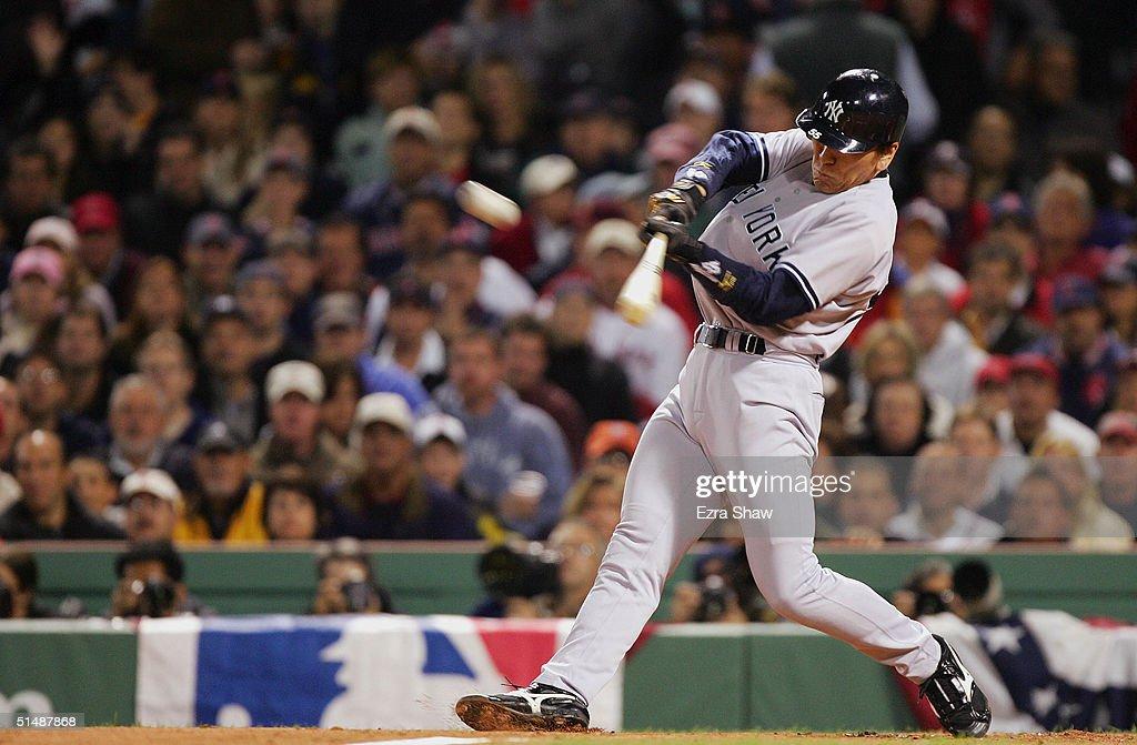 ALCS: Yankees v Red Sox Game 3 : ニュース写真