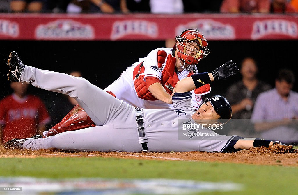 New York Yankees v Los Angeles Angels of Anaheim, Game 5
