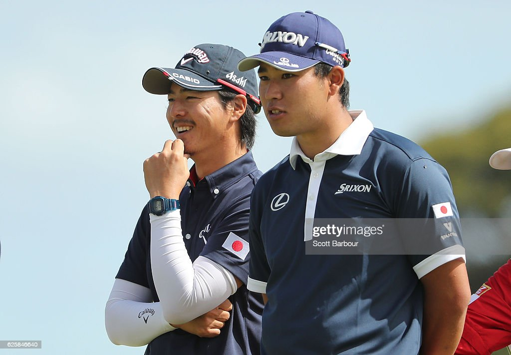 ISPS Handa World Cup of Golf - Day 3 : ニュース写真