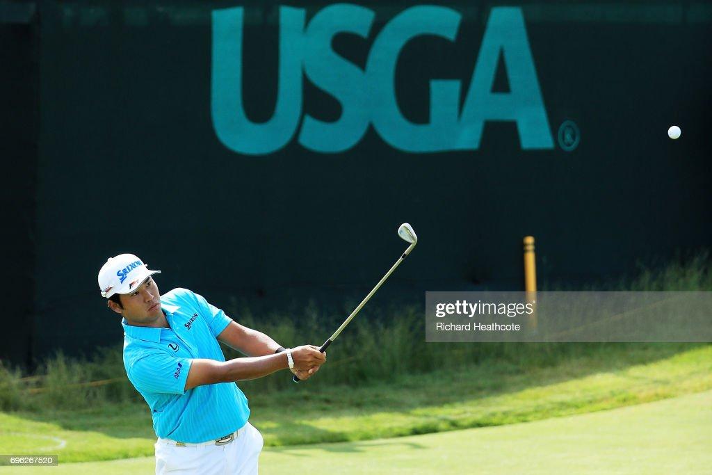 U.S. Open - Round One : ニュース写真