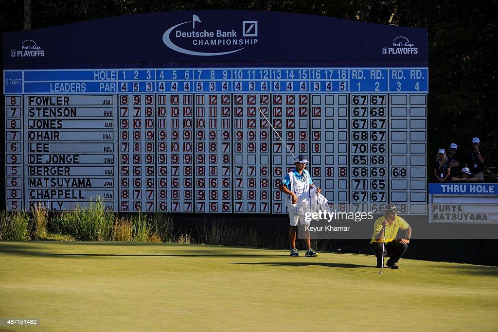 Deutsche Bank Championship - Round Three : News Photo