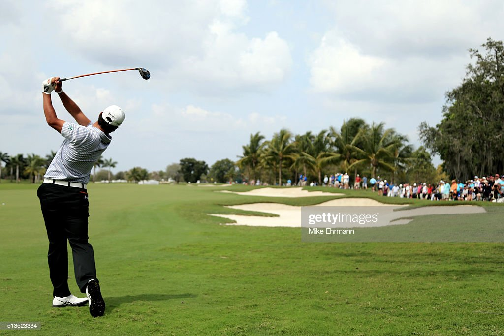 World Golf Championships-Cadillac Championship - Round One : News Photo