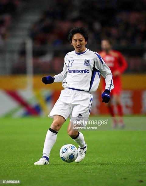 Hideo Hashimoto of Gamba Osaka