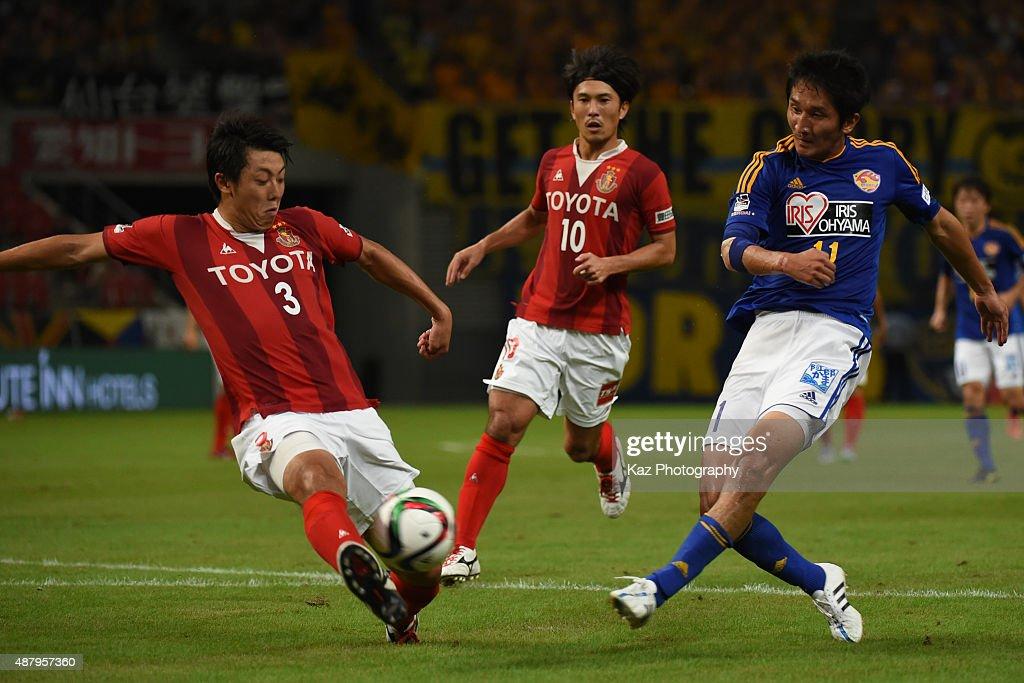 Nagoya Grampus v Vegalta Sendai - J.League 2015 : News Photo