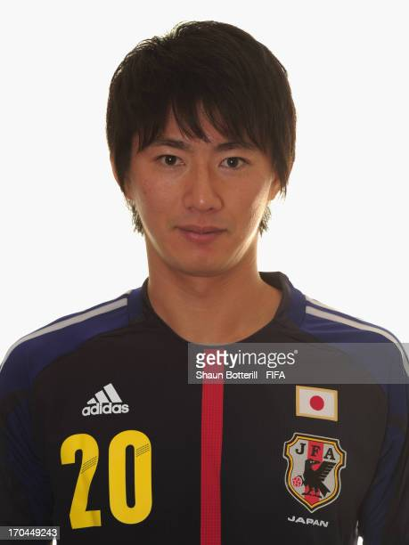 Hideto Takahashi of Japan poses for a portrait at the Kubistchek Plaza Hotel on June 13 2013 in Brasilia Brazil