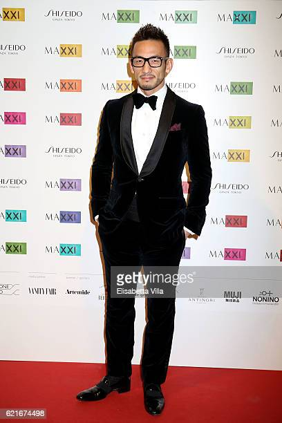 Hidetoshi Nakata attends a photocall for the MAXXI Acquisition Gala Dinner 2016 at Maxxi Museum on November 7 2016 in Rome Italy