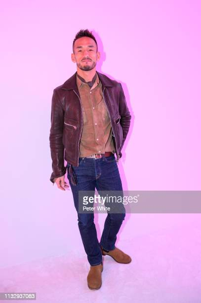 Hidetoshi Nakata attends the Chloe show as part of the Paris Fashion Week Womenswear Fall/Winter 2019/2020 on February 28 2019 in Paris France