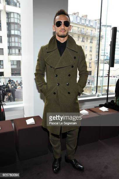 Hidetoshi Nakata attends the Chloe show as part of the Paris Fashion Week Womenswear Fall/Winter 2018/2019 on March 1 2018 in Paris France
