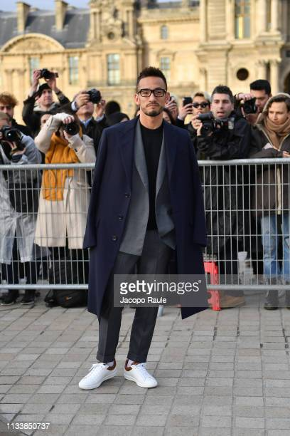 Hidetoshi Nakata attends the Louis Vuitton show as part of the Paris Fashion Week Womenswear Fall/Winter 2019/2020 on March 05 2019 in Paris France