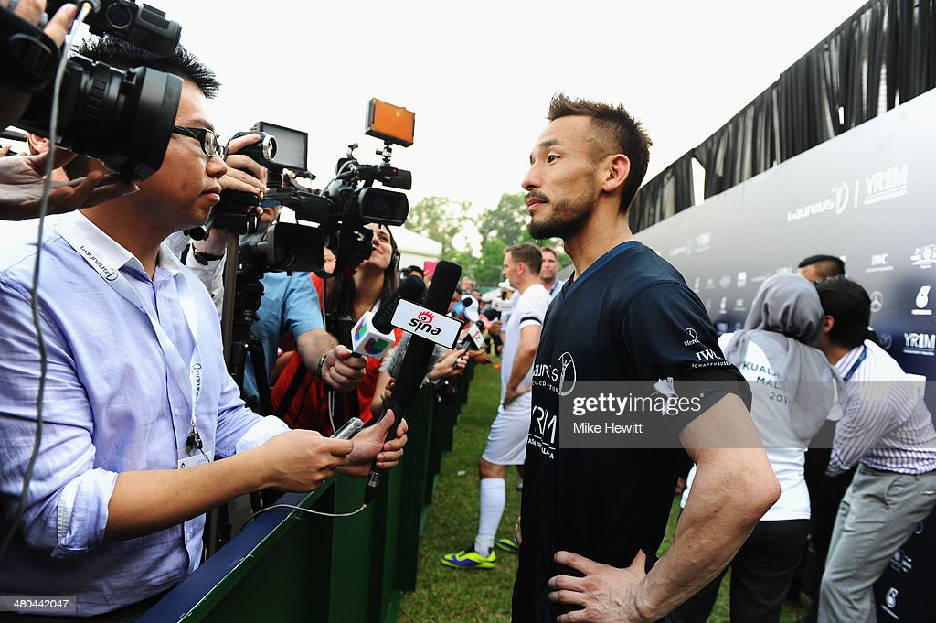 Laureus All Stars Unity Cup - 2014 Laureus World Sports Awards : News Photo