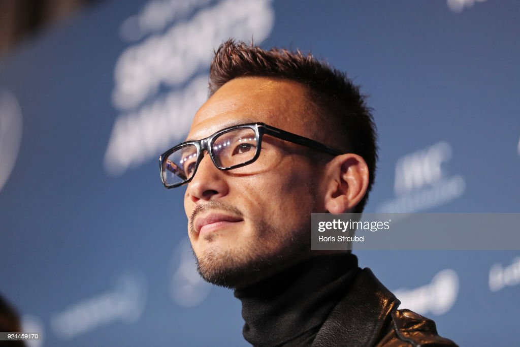 Media Interviews - 2018 Laureus World Sports Awards - Monaco : News Photo
